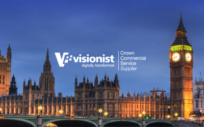 Visionist is a G-Cloud 12 Crown Commercial Services Supplier
